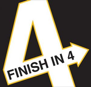 Finish in 4